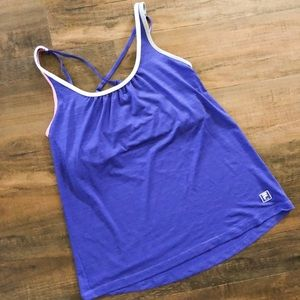 Fila workout top with built in bra.